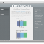 Off Canvas - Responsive Design