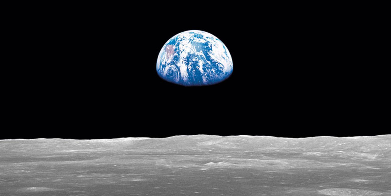 Aufgehende Erde