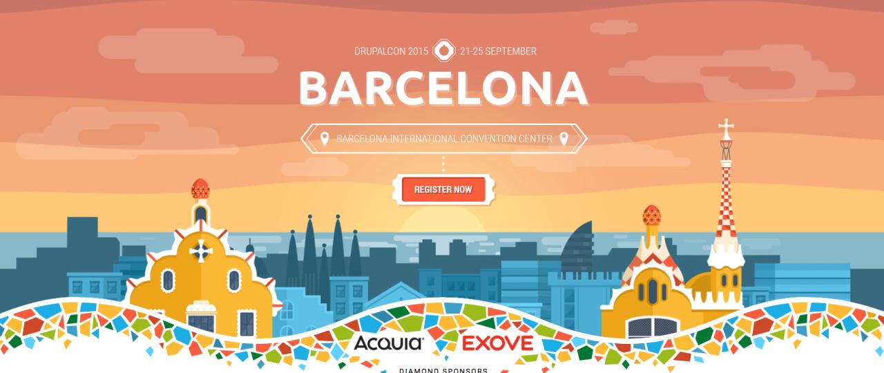 Drupalcon Barcelona 2015