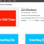 Wie verwende ich ein WordPress Child Theme?
